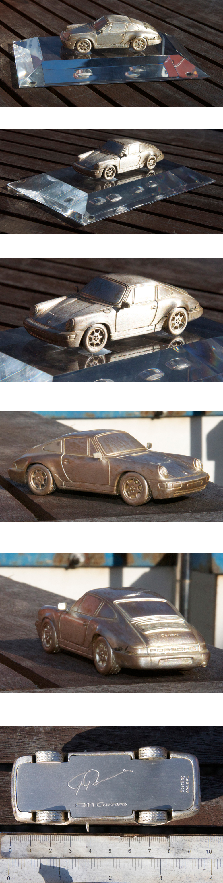 Vintage Automobile Porsche Trophy Porsche 911 Carrera