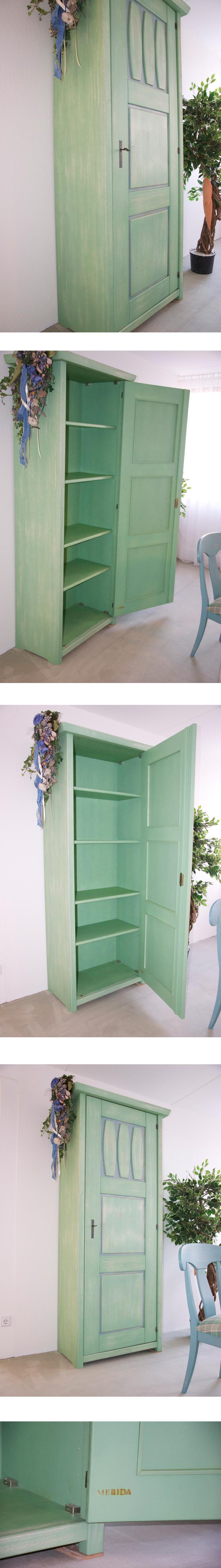 r umungsverkauf wk manufakt programm merida schrank eint rig vintage design ebay. Black Bedroom Furniture Sets. Home Design Ideas